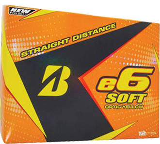 Bridgestone e6 Soft Optic Yellow