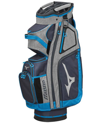 Mizuno BR-D4 Cart Bag Grey/Blue