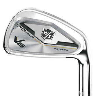 Wilson Staff FG Tour V6 Irons - Steel (4-PW)