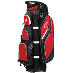 Callaway Forrester 2.0 Cart Bag - Red/Black/White