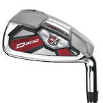 Wilson Staff D300 Irons - Steel (4-PW)