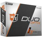 Wilson Staff Duo Soft Optix Orange