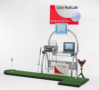 SAM Putt Lab Station